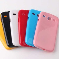 jelly candy tpu silicon case for samsung galaxy core i8260