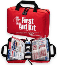 With private label waterproof first aid kit for outdoor or medical