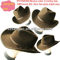 wholesale perfect brown woman big cowgirl hat