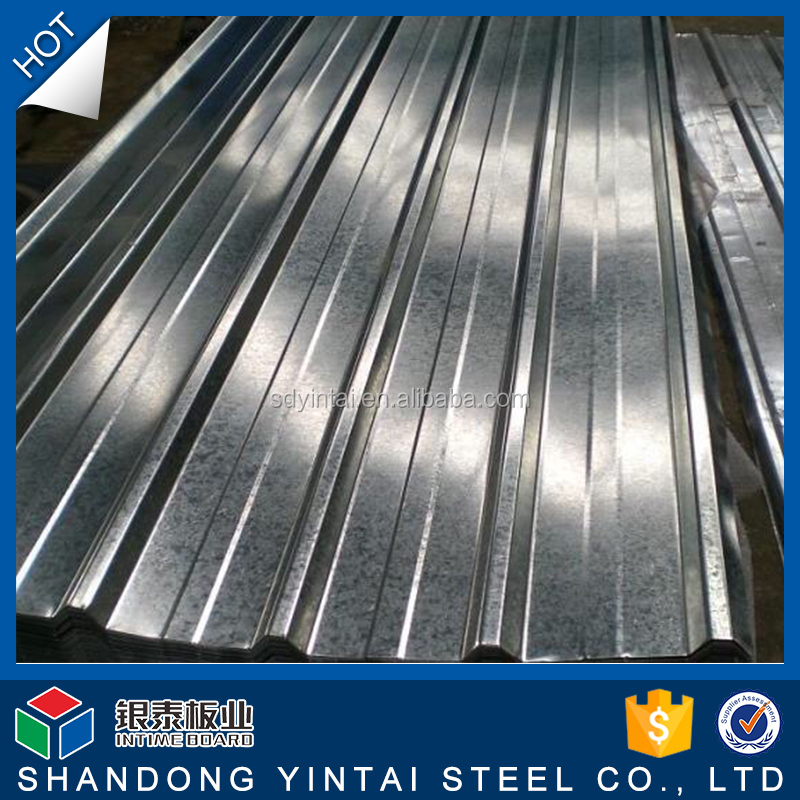 Factory price sheet metal panels for roofing Corrugated steel plate