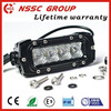 New Offroad 4x4 4inch mini led light bar Single Row 20W car LED Light Bar with lifetime warranty