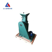 Mini hammer crusher for crushing medium hardness materials for laboratories