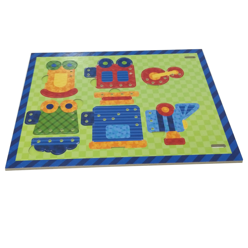Hot Sale Special Style Children Paper Jigsaw Puzzle