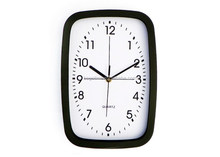 office decorative square metal wall clock