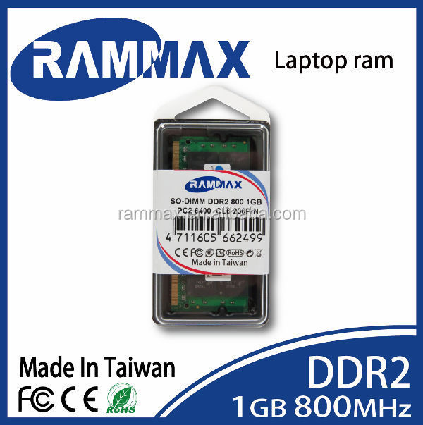 Bulk Price Ram sodimm ddr2 1gb 800mhz full compatible