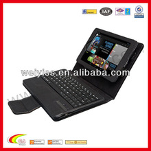 Genuine leather case for ipad with keyboard new product