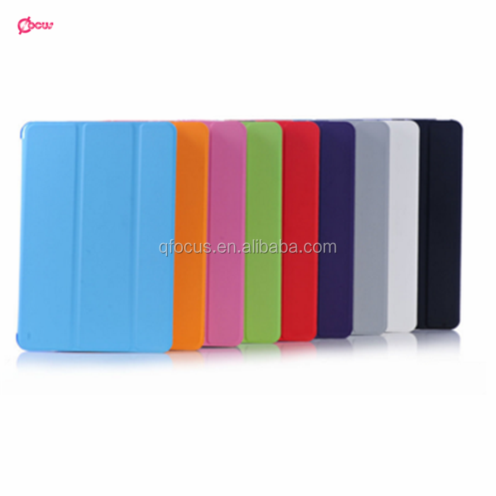 Folding Protective Case For iPad 2 Stand Leather Case Smart Cover For iPad 4
