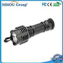 diving torch warm white led waterproof flashlight