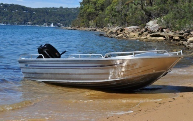 CE certification high quality low price 14ft aluminum fishing boat