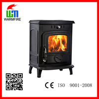 China manufactures cheap cast iron wood fired stoves / coal burning stoves