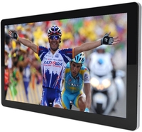 "SAW projected capacitive 10 finger touch 32"" LED touch Monitor/ LED touch Display"