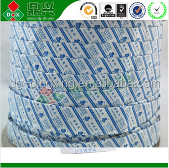 Roll form 30CC&50CC oxygen absorber for desiccant inserter machine