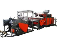 best selling Three layer pe stretch film machine, stretch film making machine,pe stretch film extruder