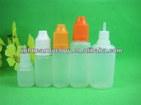 SGS 6ml LDPE plastic eye drop bottles and childproof cap