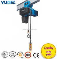 European Stype Electric Chain Hoist, low head room