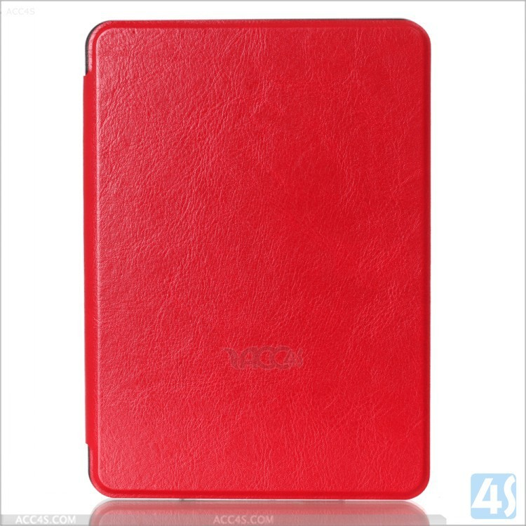 New PU Leather Cover Case red for Amazon Kindle Ereader Ebook