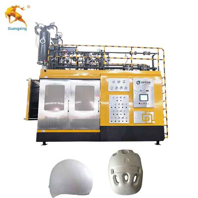 <strong>Motorcycle</strong> Football Protection High Density Expanded Polystyrene Foam Helmet Making Machine