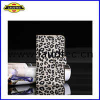 New Arrival Leopard Leather Case for Samsung Galaxy Note 2 N7100 --Laudtec