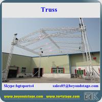 Ground support lighting truss, truss crane,exhibition aluminium truss