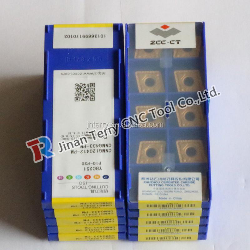 10pcs ZCC.CT VNMG160408-DF   YBC151