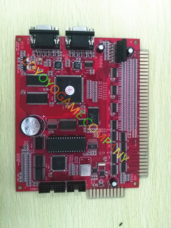 percentage adjusable slot machine pcb board red gold14in1