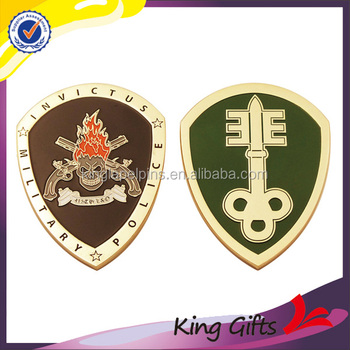 High quality Custom logo silver / gold metal Souvenir challenge coin for sale