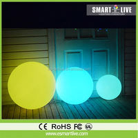 HOT led moon light ball / floating swimming led pool balls, rechargeable led ball