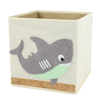 Whale Animal Children Foldable Box Storage For Kids Living Room
