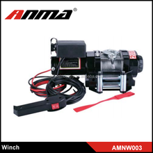 8000 lbs.12V China Manufacturer Fast Speed ATV Winches 4x4 electric winch