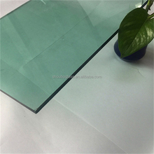 5mm light green reflective/coated glass