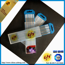 Yuheng brand zirconiated tungsten electrodes rods/ esab weld electrodes