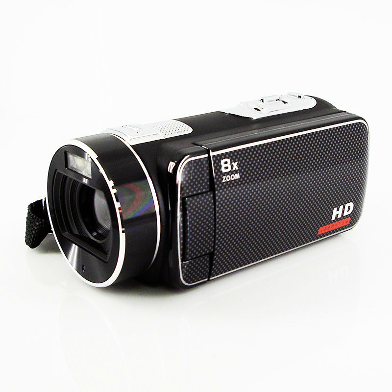 HD 720P 3.0'' TFT LCD digital camcorder with LED light