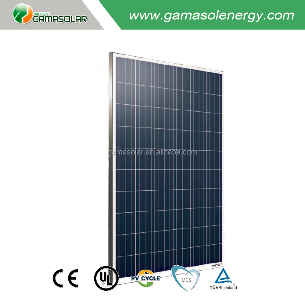 Cheap price 250w 260w solar panel photovoltaic with 60pcs cell for home