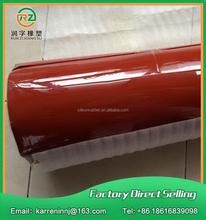 Custom wholesale newly design silicone thin rubber sheet raw material