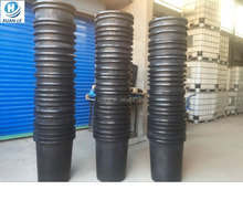 Rotational plastic water tank drum 300 liter with drain for storage
