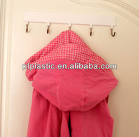 self adhesive plastic towel rack hooks/clothes hanger