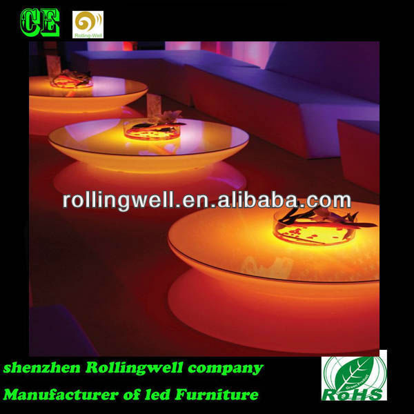 LED Bar Furniture Mix Set, Illuminated bar furniture for Bars and Night Clubs