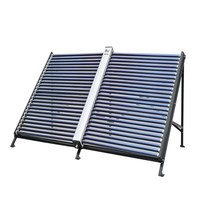 40tubes vacuum solar collector solar power project 40tubes