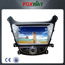 In dash 8Inch touch screen wholesale 2 din auto radio car dvd player with gps for Hyundai Elantra