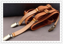 women and lady New design metal clip suspenders and braces belt