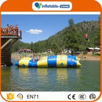 New arrival inflatable jump air bag for skiing inflatable air pillow