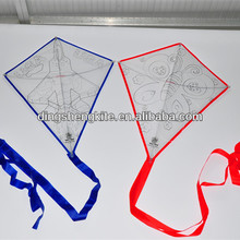 China manufacturer teaching kite DIY kite drawing kite with colour pens for kids