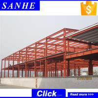 Portable metal garage/steel frame building/prefabricated steel structure building
