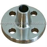 ANSI B16.5 stainless steel raised face long weld neck flange