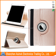 Stand Feature Luxury 360 Rotating Magnetic Smart PU Leather Case Cover with Wake & Sleep Function for iPad Pro 9.7 inch 2017