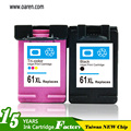 For hp New Version show ink level ink cartridge chip reset no light blink for HP 61 XL Ink Cartridge