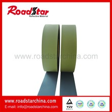 High vis reflective pvc foam leather for shoes