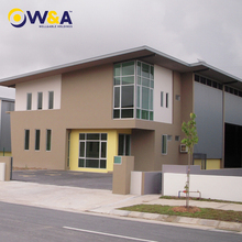 (WA-M211)Customized Prefabricated Homes / Prefab Modular Apartment Building with Glass