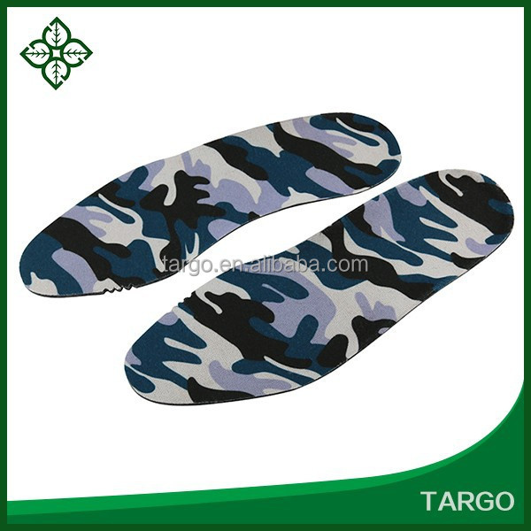 Comfortable camouflage Aluminum Foil heated insole foot warmer