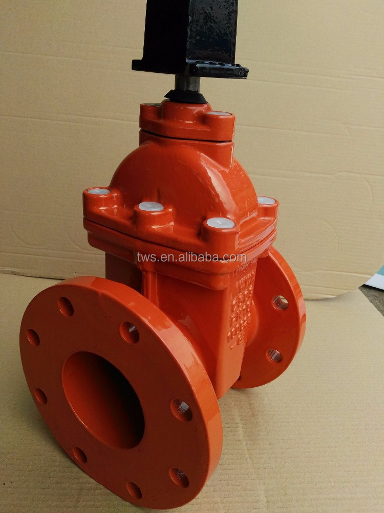 6 Inch Water Gate Valve Non-rising Stem with Handwheel